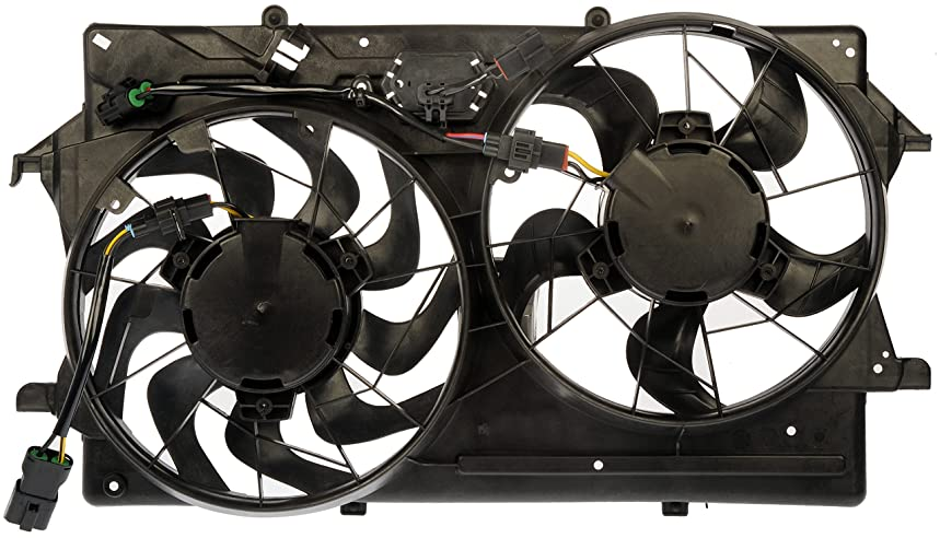 Dorman 620-147 Dual Fan Assembly for Ford Focus