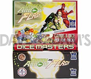 DC Comics Dice Masters: Green Arrow and The Flash 90 Ct. Gravity Feed