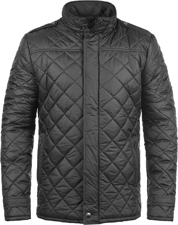 Solid Safi Herren Steppjacke Übergangsjacke Jacke mit mit mit Stehkragen B075DBVNT9  Sofortige Lieferung 18e266