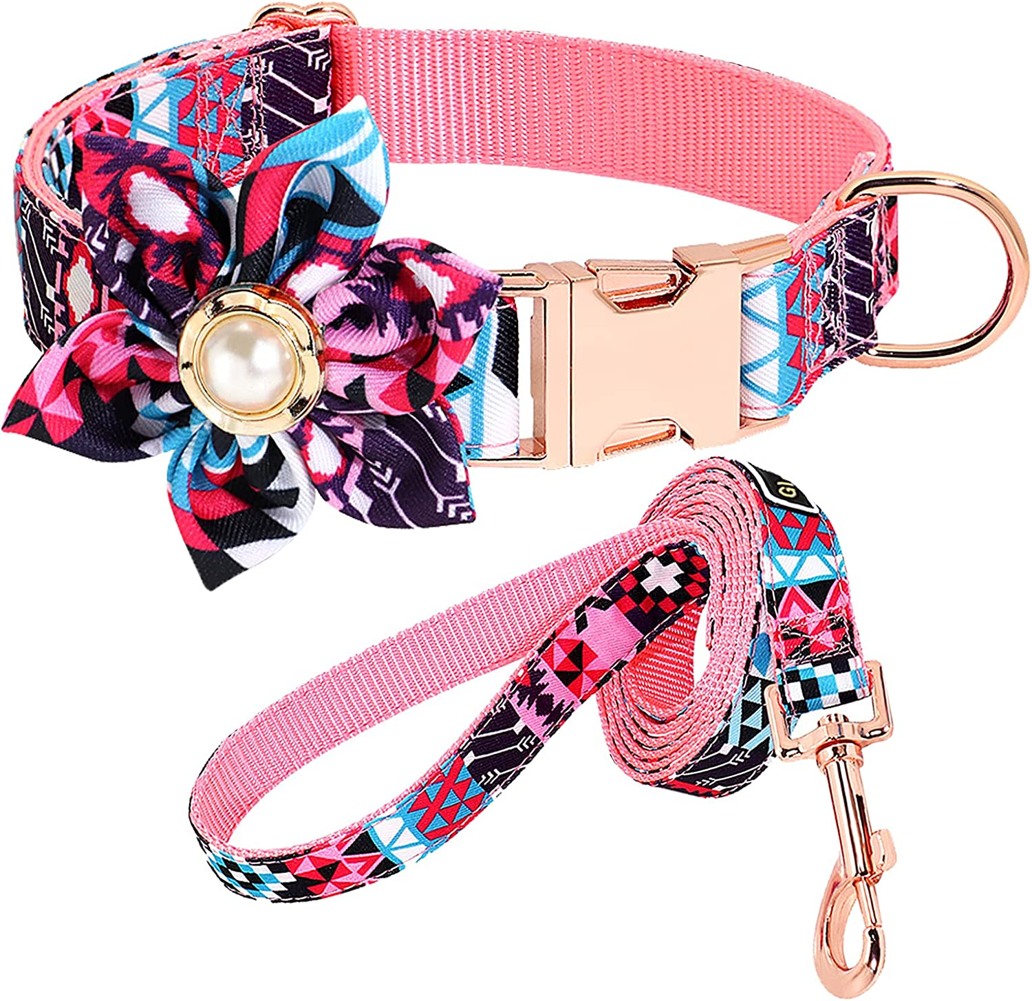 lowest price Flower Girl Dog Collar Don't miss the campaign Detachable Decoration Adjustable C