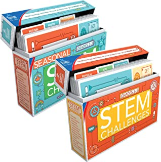 Carson-Dellosa STEM Challenges Learning Card Bundle