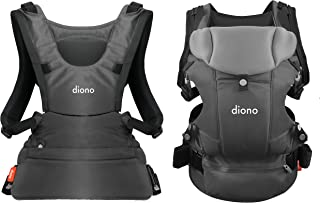 Diono Carus Essentials 3-in-1 Carrying System from Birth up to 3 Years, Light Gray