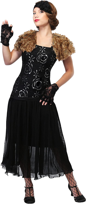 Fun Costumes Women's Plus Size Charleston Flapper 3X