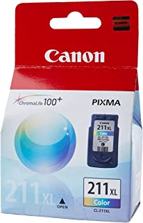 Canon CL-211XL Color Ink Cartridge Compatible to iP2702, MX340, MX350, MX320, MP250, and MP270 (2975B001)