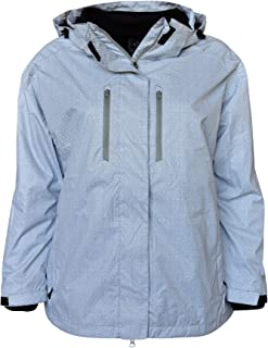 Pulse Women's Plus Extended Size 3in1 Boundary Snow Ski Jacket Coat