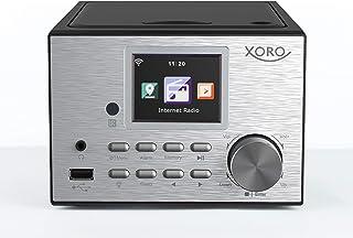 """Xoro HMT 500 PRO - Micro Stereo Systeem (Internet-/DAB+/FM-radio, CD-speler, Bluetooth V4.0, mediaspeler, 2.4"""" kleurendisp..."""