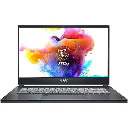 """MSI Creator 15 Professional Laptop: 15.6"""" 4K UHD Ultra-Thin Bezel Display, Intel Core i7-10875H, GeForce RTX 2070 Super, 32GB RAM, 1TB NVMe SSD, Thunderbolt 3, 100% Adobe RGB, Win10 PRO (A10SFS-287)"""
