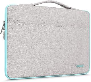 MOSISO 360 Protective Laptop Briefcase Handbag Compatible 13-13.3 Inch MacBook Pro, MacBook Air, Notebook with Fully Open ...