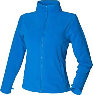 Henbury Womens/Ladies Microfleece Anti-Pill Jacket