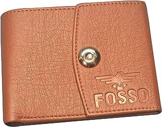 Fosso Pu Leather Tan Formal Regular Wallet