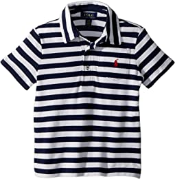Polo Ralph Lauren Kids - Featherweight Cotton Mesh Polo (Toddler)