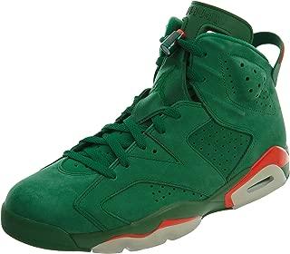 NIKE Mens Jordan 6 Retro Gatorade Pine Green Suede