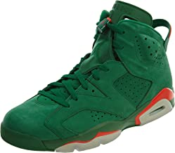 NIKE Mens Jordan 6 Retro Gatorade Pine Green Suede Size 9.5