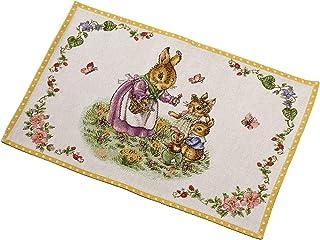 Villeroy & Boch Spring Fantasy Gobelin Familie, Platzset für die Festtafel, Baumwolle, Polyester, 32 x 48 cm, bunt, waschbar bis 40, 32x48