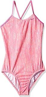 Nike Girls' Big Crossback One Piece Swimsuit