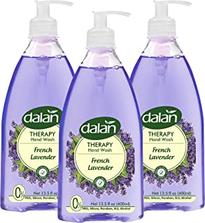Dalan Therapy French Lavender Ultra Moisturizing Liquid Hand Soap for Normal and Dry Hands Fresh Clean and Soft Feeling (1...
