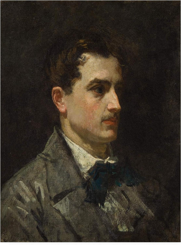 Trademark Fine Art Portrait of Proust by Manet, 14x19, Multiple