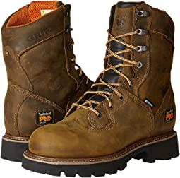 "8"" Crosscut Soft Toe Waterproof Boot"