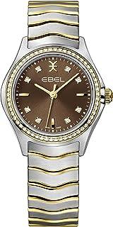 EBEL Ladies 1216482 Wave 18K Gold & Steel Swiss Quartz Watch