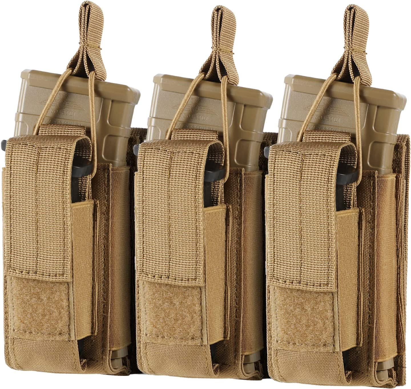 FRTKK 2021 spring and summer new Molle Mag Pouch Open Top Double Po Single Triple sale Magazine