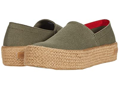 SeaVees Oceanside Espadrille High (Olive) Women
