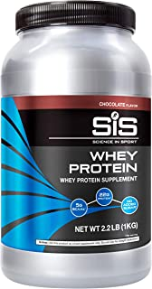 SCIENCE IN SPORT Whey Protein Powder, 22g Protein, 5g BCAAs, 2.5g Leucine, Increases Rate of Muscle Protein Synthesis, Low...