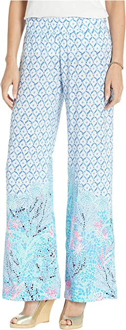 b1de08a226831e Lilly pulitzer georgia may palazzo pants | Shipped Free at Zappos
