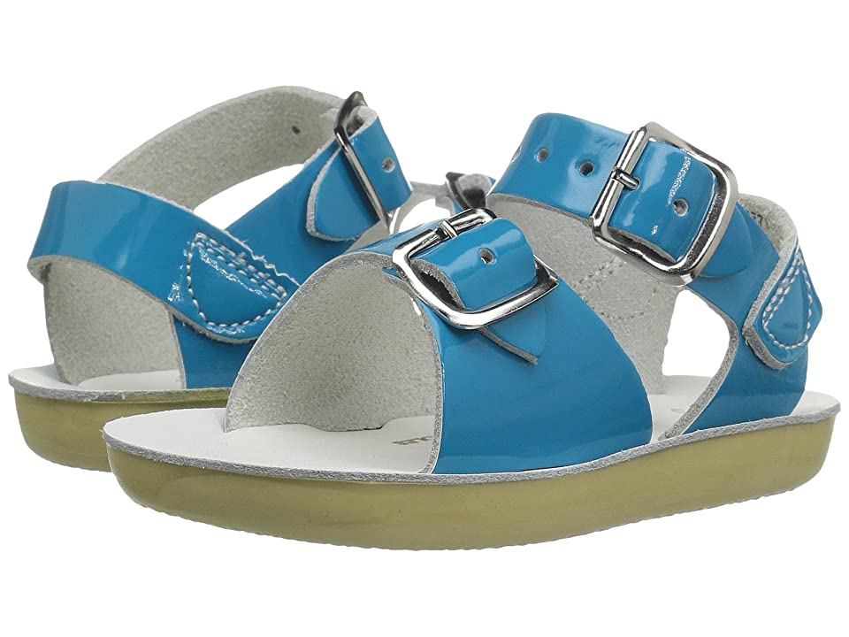 Salt Water Sandal by Hoy Shoes Sun-San Surfer (Toddler/Little Kid) (Turquoise) Girls Shoes