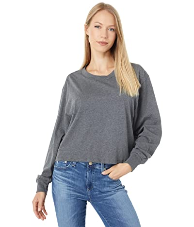 Alternative Cotton Jersey Main Stage Cropped Long Sleeve Tee