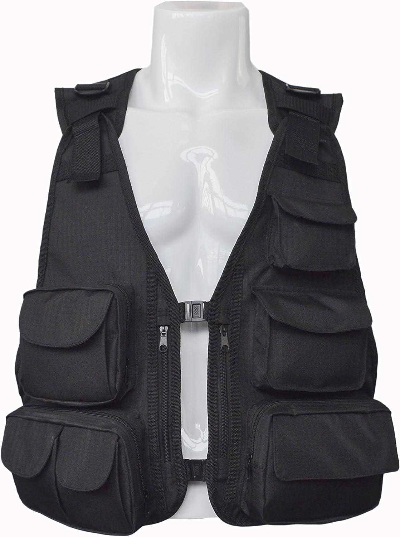 mydays Men's Fly Fishing Waistcoat Direct stock discount Vest 55% OFF Jackets Multi-Pockets