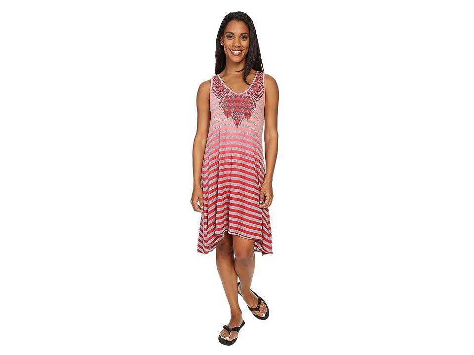 Prana Henna Dress (Sunwashed Red) Women
