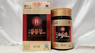 100% Korean 6 Years Old Root Red Ginseng Extract, High Concentration of Ginsenoside Rg1+Rg2+Rg3 (9.0mg per Gram: Compare with Other Products diluted to 4.0mg per Gram): Power Up Stamina and Energy