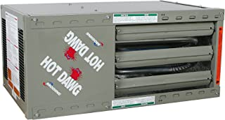 Modine HD100AS0121 100000 BTU Unit Heater LP 80% AFUE Power Vented