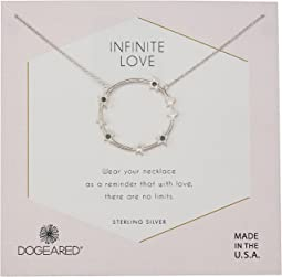 Dogeared - Infinite Love, Large Star Halo Necklace