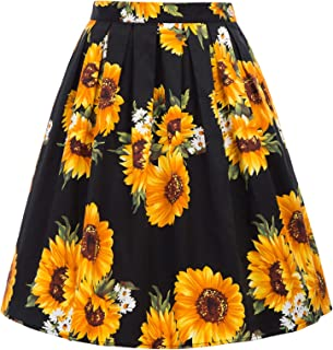 cute tops to wear with skater skirts