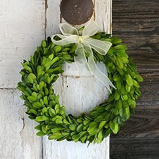 Preserved Boxwood Round Wreath 8