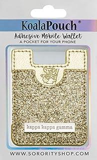 Kappa Kappa Gamma - Glitter Koala Pouch (Gold)