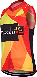 mzcurse Women's Sleeveless Vest Jersey Shirt Blouse Tops Tees Zipper Elastic