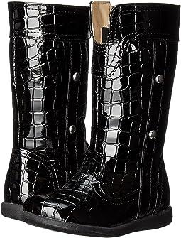 Black Croc Patent