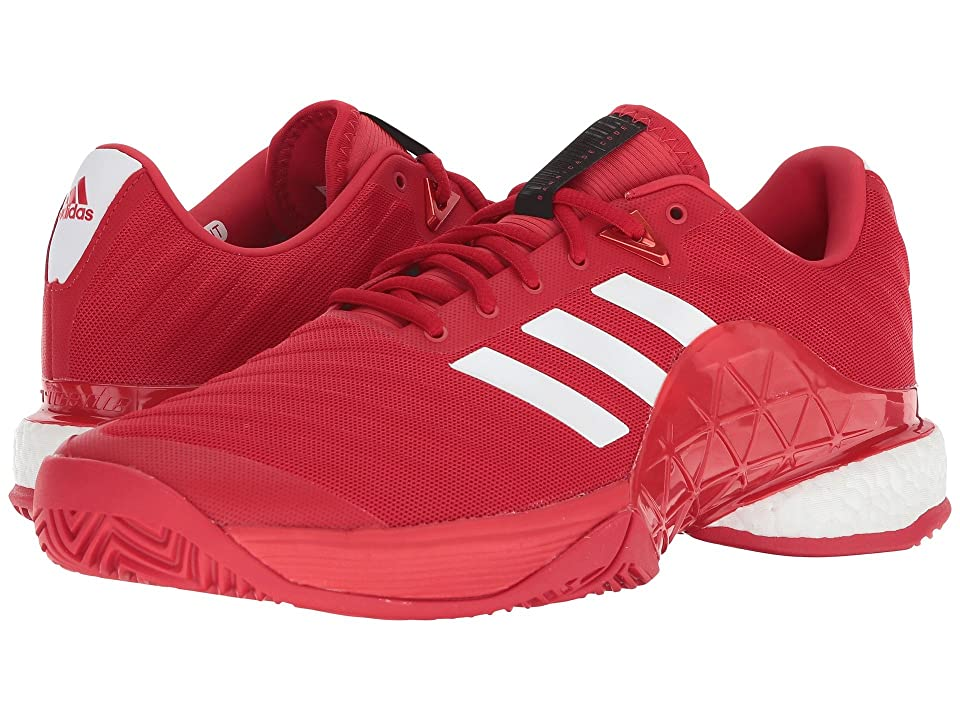 adidas Barricade 2018 Boost (Real Coral/White/Real Coral) Men
