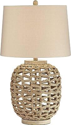 Amazon.com: Silverwood CPLT1482 - Lámpara de mesa, ratán ...