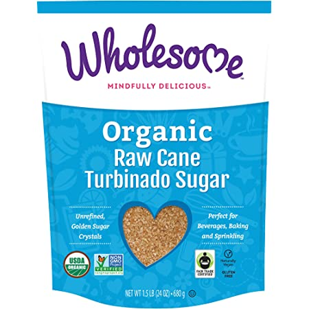 Wholesome Sweeteners, Granulated Amber Sugar, 1.5 lb