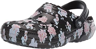 Women's Classic Printed Floral Lined Clog