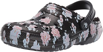 Crocs Women's Classic Printed Floral Lined Clog
