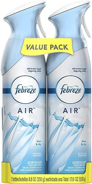 Febreze AIR Freshener Linen Sky 8 8 Ounce 2 Count
