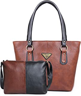 Fiesto Fashion Women's Handbag and Sling Bag with Combo
