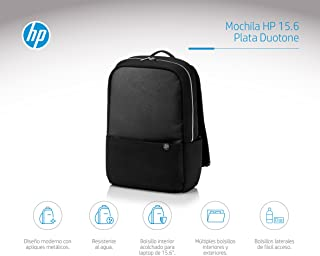 HP 15.6 Duotone Backpack - Silver