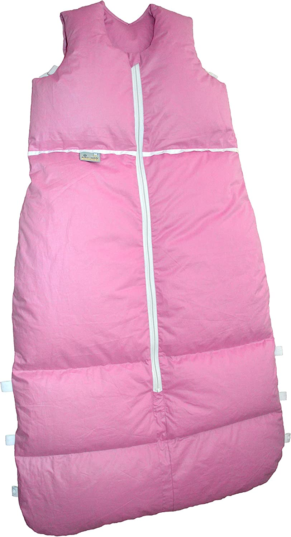 Premium Premium Premium Daunenschlafsack, längenverstellbar, Alterskl. ca 12-24 Monate, Rosa uni, 110cm B00MNLRZ3O 41e7bf