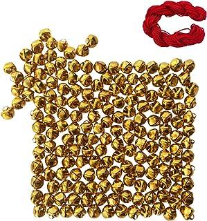 Golden MANSHU 3//4-Inch Craft Bells 40 Pieces Jingle Bells