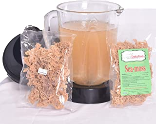 1 8oz Pack Sea Moss Dried/Raw-Turn Irish Moss (Dr. Sebi Recommended) 100% Wildcrafted-Pacific Ocean